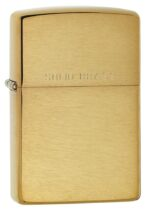204, Brushed Solid Brass, Classic Case,