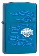 20711, Harley-Davidson Blue Design, Color Image, High Polish Blue, Classic Case