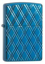 Armor® High Polish Blue Diamonds standing at a 3/4 angle