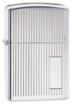 350, Decorative Stripes and Initial Panel with High Polish Chrome Finish