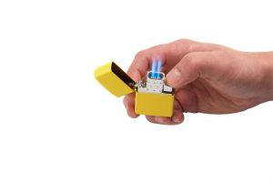 Double Torch Butane Lighter Insert