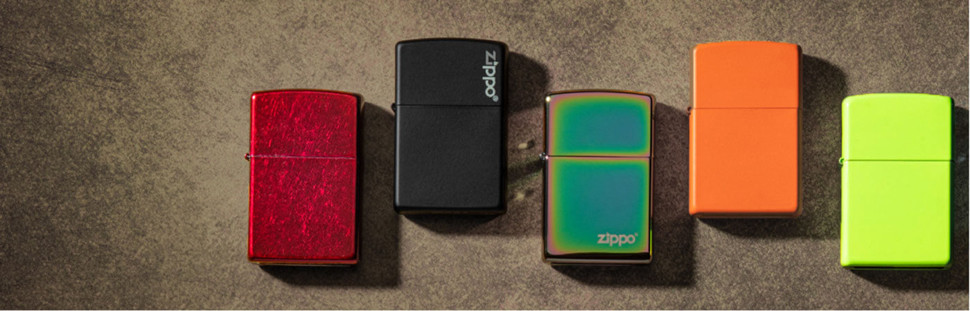 Colourful Design Lighters