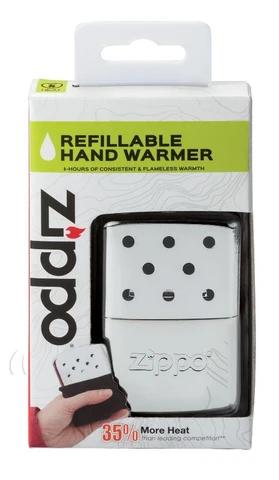 6-Hour High Polish Chrome Refillable Hand Warmer