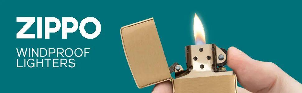 High Polish Brass Lighters